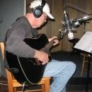 Ken Kraft adding parts with a Boulder Creek Guitar